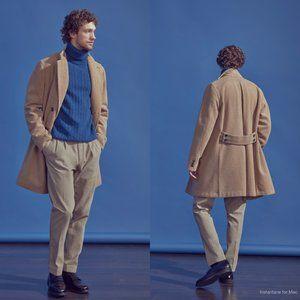 Boglioli Casentino Wool Double Breasted Coat